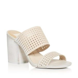 Dolce Vita Esme Heeled Sandal 👡 sz 8 perforated
